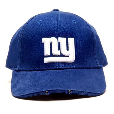 NFL New York Giants Dual LED Headlight Adjustable Hat by Lightwear