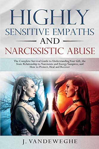 Book : Highly Sensitive Empaths and Narcissistic Abus (7104)