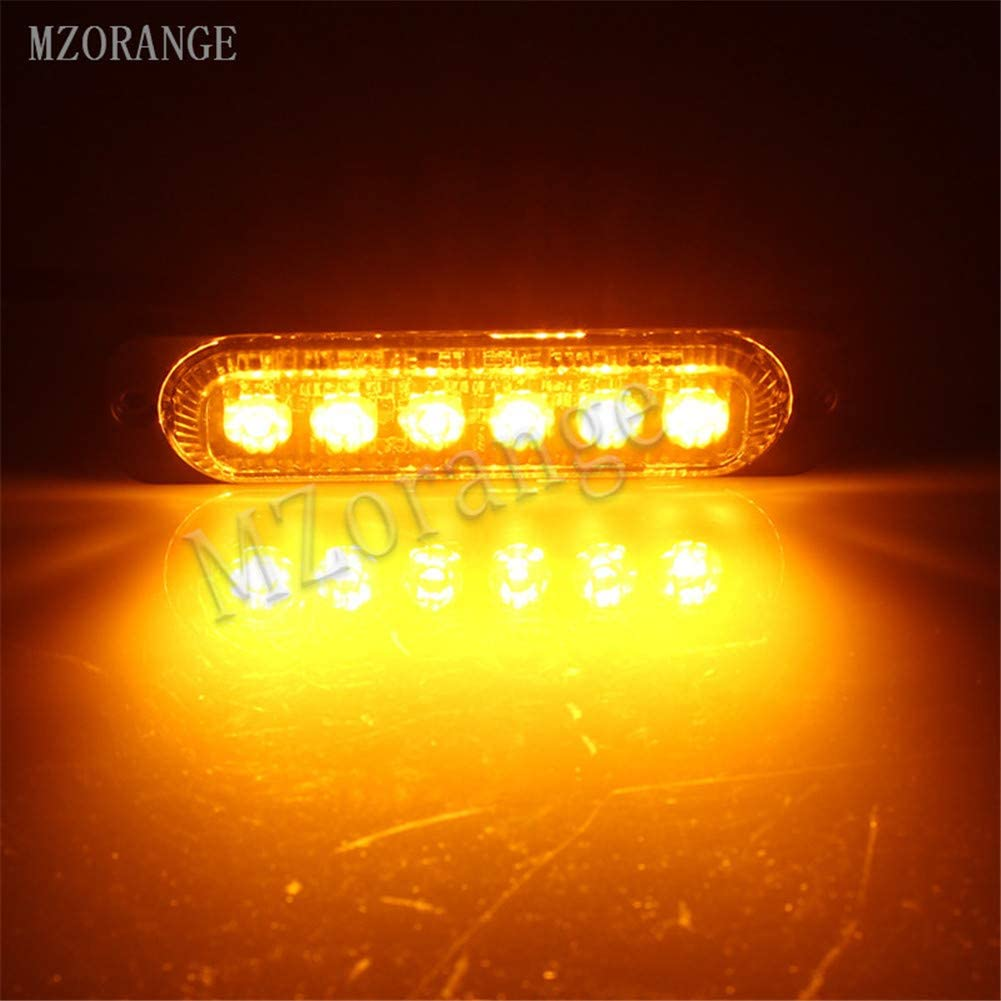 Clidr 2x6 12 LED Super Bright White