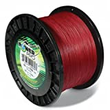 Power Pro Spectra Fiber Braided Fishing Line, Vermilion Red, 1500YD/40LB