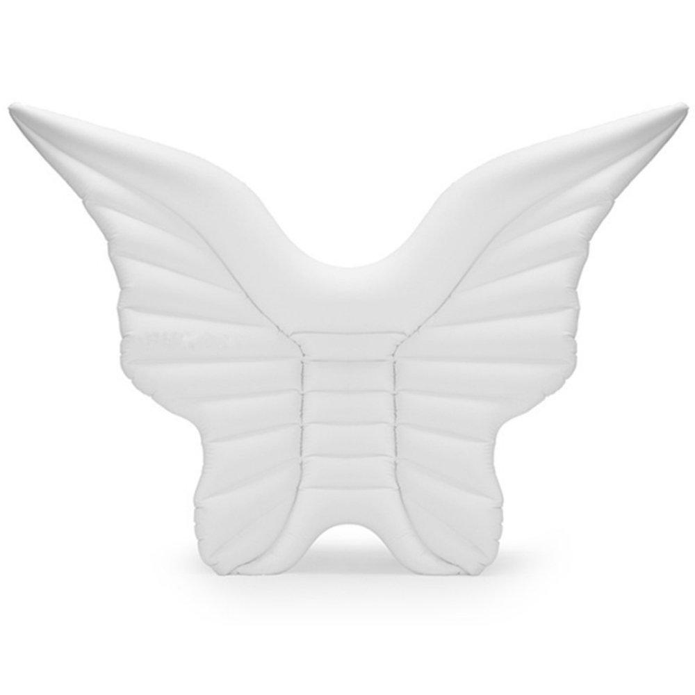 Aufblasbare Angel Wings Floating Row, Schwimmbad Float Aufblasbare Spielzeug Erwachsene & Kind Floating Bett Wasser Erholung Stuhl (Farbe   GoldEN Wings) Golden Wings