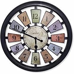 Westclox 18.50 Color Panel Wall Clock