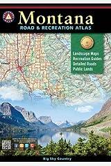 Montana Road & Recreation Atlas (Benchmark) Paperback