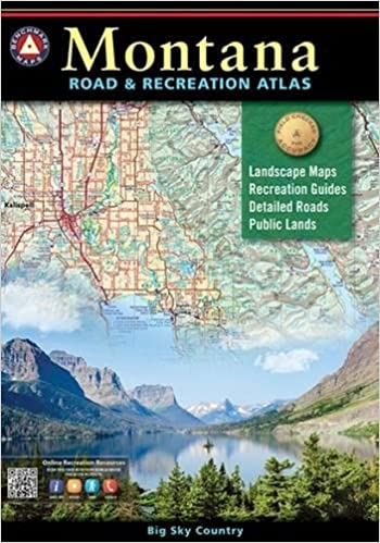 Montana Road & Recreation Atlas (Benchmark): Benchmark Maps ...