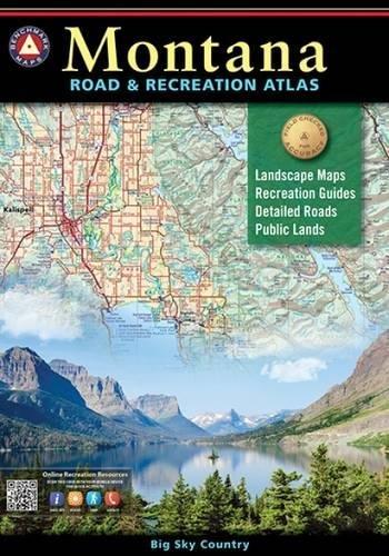 Montana Road & Recreation Atlas (Benchmark)