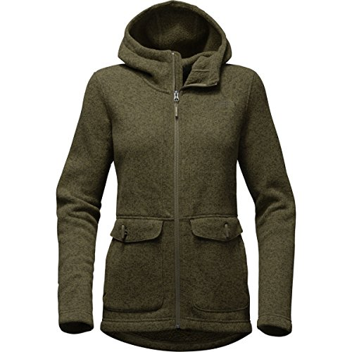 The North Face Women's Crescent Parka - New Taupe Green Heather - S (Past - Long Face