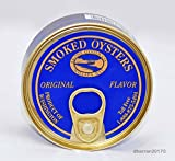 Smoked Oysters - All Natural Original Flavor Farmed in USA - Willapa Bay Washington by Ekone Oysters
