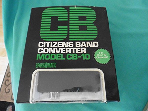 Sparkomatic CB Citizens Band Converter for 23 or 40 Channels Model CB-10 ()