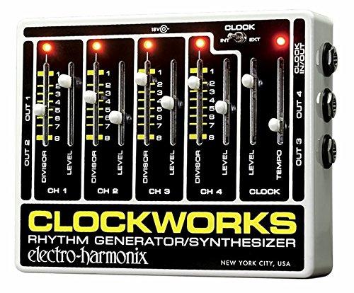 EHX B00OOPWHU8 リズム Electro Harmonix Clockworks クロックワークス シグナルコンバーター リズム ジェネレーター EHX エレクトロ ハーモニクス エフェクター Clock Works【並行輸入品】 B00OOPWHU8, ミックスマート:ac1966e9 --- verkokajak.se