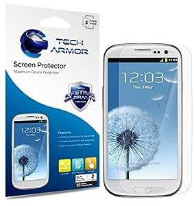Tech Armor Anti-Glare and Anti-Fingerprint Matte Finish Screen Protectors with Lifetime Warranty for Samsung Galaxy S3 S III