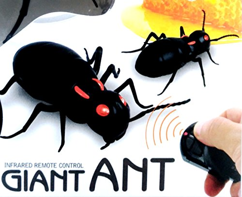 (itisyours Remote Control RC Infrared Giant Ant Mock Fake Toy R/C Gags Practical Jokes Funny Gadgets)