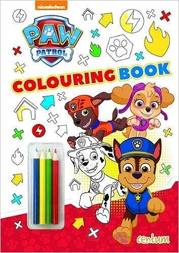 Paw Patrol - Colouring Book: Amazon.co.uk: Centum Books Ltd ...