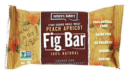 Nature's Bakery - 100% Natural Stone Ground Whole Wheat Fig Bar Peach Apricot - 2 oz.(pack of 3) by Nature's Bakery (Image #1)