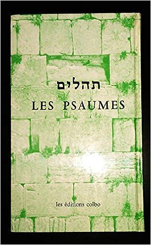 Livres Psaumes bilingues : français-hébreu pdf