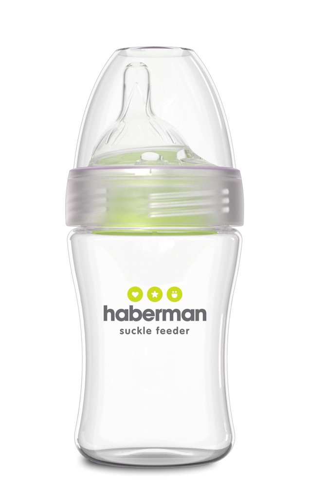 Haberman Suckle Feeder single 260ml HSF01/260