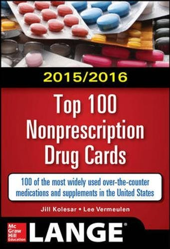 2015/2016 Top 100 Nonprescription Drug Cards