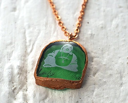 lucky-buddha-beer-necklace-glass-and-copper-recycled-beer-bottle-charm