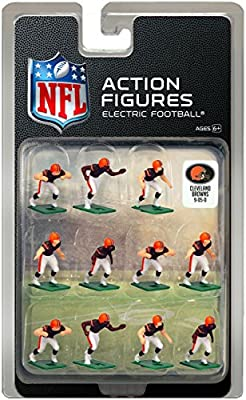 Cleveland Browns Home Jersey NFL Action Figure Set