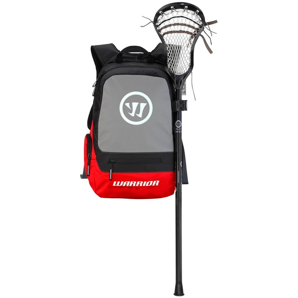 Warrior Jet Pack Tripper II Lacrosse Backpack Bag Red