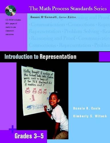 Standards Math Series Process (Introduction to Representation, Grades 3-5 (The Math Process Standards Series))