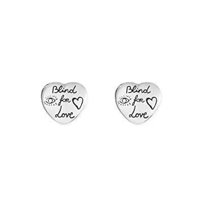 a26c3ac3913 GUCCI BLIND FOR LOVE earrings YBD45525500100U  Amazon.co.uk  Jewellery