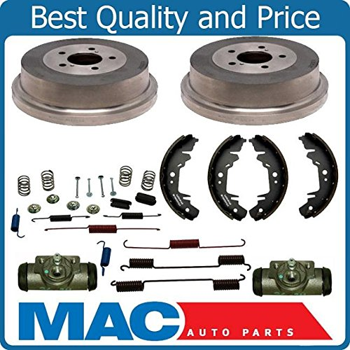 Drums Shoes Spring Kit Wheel Cylinders 96-07 Front Wheel Drive Town & Country