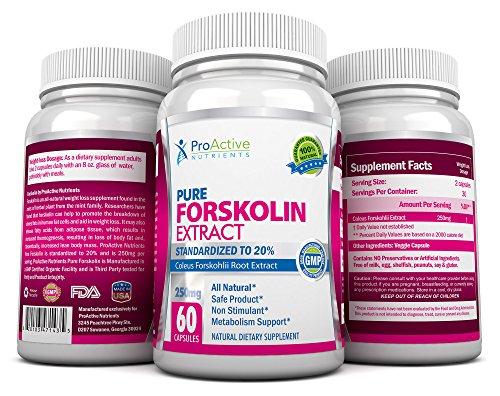 Forskolin Burner fastest Forskohlii Supplements product image