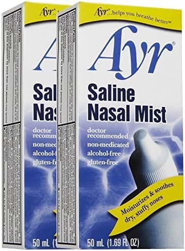 Allergy & Sinus: Ayr Saline Nasal Mist