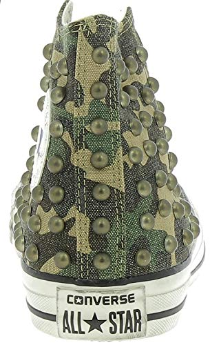 Distressed Ctas Converse Zapatos Verde Eu Camouflage Mujer Hi 160993c Para 42 Gothic qSwd1w