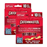 Best Fly Traps - Catchmaster Sticky Fly Trap Ribbon - Indoor/Outdoor Fly Review
