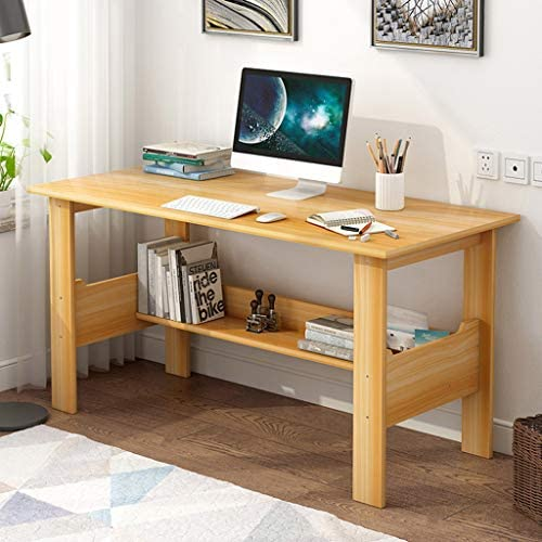 Sentmoon Modern Home Office Desk Desktop Computer Laptop Desk Study Table Office Writing Desk Workstation Students Study Writing Desk Table