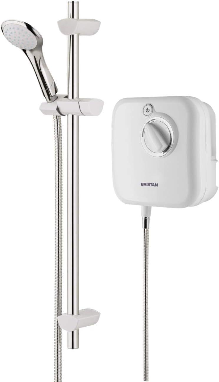 Bristan Hydropower HY POWSHX10 W Thermostatic Power Shower - White