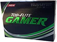 Top Flite Gamer - Explosive Distance 3-Piece Golf Ball Dimple in Dimple 12 Count