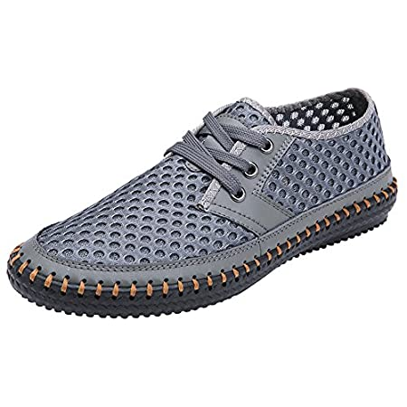 MOHEM Men's Poseidon Mesh Walking Shoes Casual Water Shoes