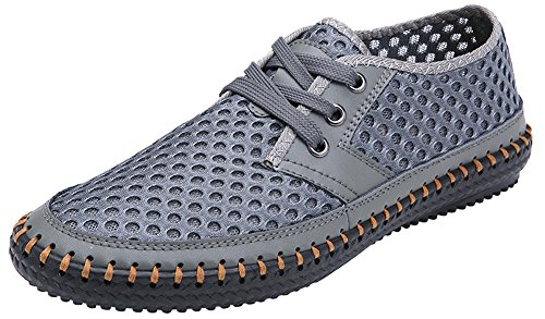 MOHEM Men's Poseidon Mesh Walking Shoes Casual Water Shoes – DiZiSports Store