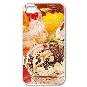 Personalized Case for Iphone 4,4S - Delicious ice cream ( WKK-R-89915 )