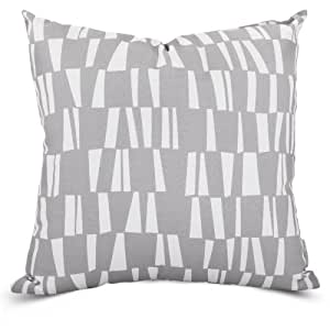 Majestic Home Goods Gray Sticks Extra Large Pillow