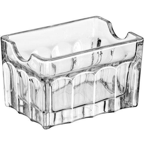 Libbey 5258 Gibraltar Glass Sugar Packet Holder - 24 / CS