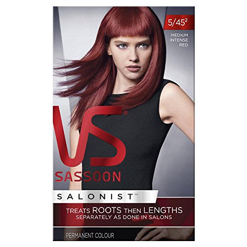 Vidal Sassoon Salonist Permanent Hair Colour - 5/45 Medium Intense Red