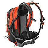 ECEEN Solar Powered Backpack Pack Sun Charged Hiking...