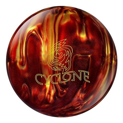 Ebonite Cyclone Fireball Bowling Ball- Red/Gold (Ebonite Bowling Ball 10)