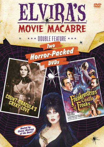 Elvira's Movie Macabre: Count Dracula's Great Love / Frankenstein's Castle Of Freaks (Double (Love Castle)