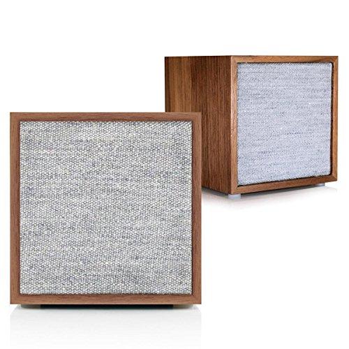 Tivoli Audio Cube Stereo in Walnut by Tivoli Audio