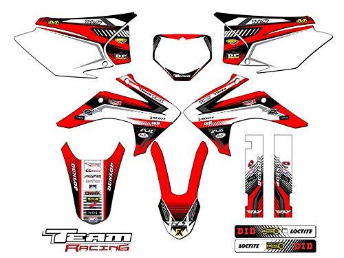Team Racing Graphics kit for 2015-2017 Honda CRF 150F/230F, ANALOG