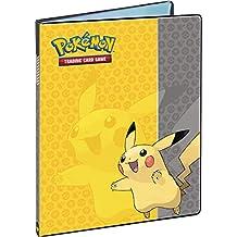 Pokemon Pikachu Binder Ultra Pro 9 Pocket Portfolio Includes Pages
