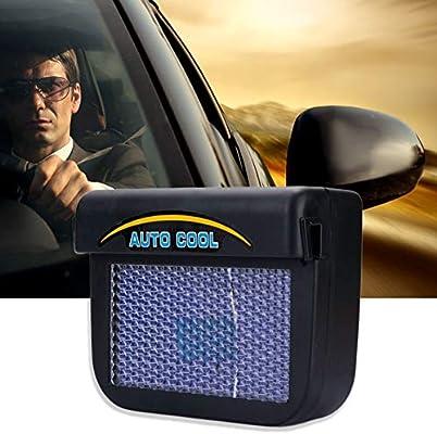 Ventilador de ventilación accionado solar del extractor del coche ...