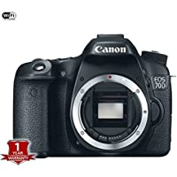 Canon EOS 70D Digital SLR Camera (Body Only) International Version (No warranty)