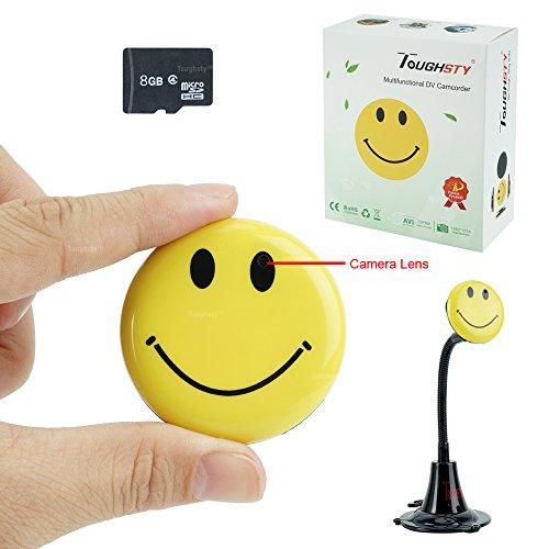 Hidden Camera Smiley Wearable Camcorder