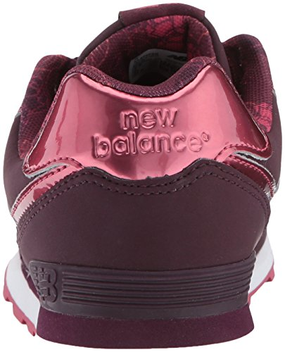 Mixte Baskets burgundy Bébé New 574 Balance Rouge tqETn6