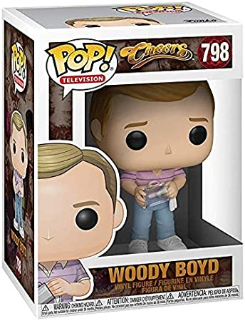 Funko TV: Cheers - Woody Boyd Pop! Vinyl Figure (Includes Compatible Pop Box Protector Case)